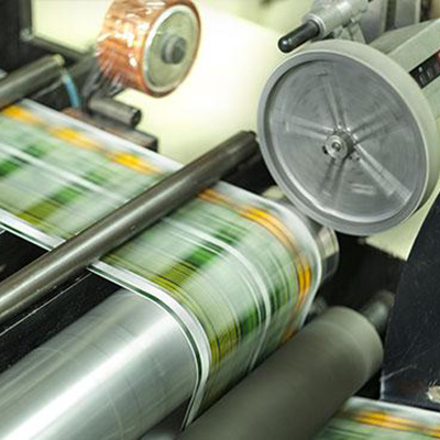 Paper on printing spool