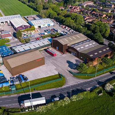 Alison Handling Aerial Photo of premises
