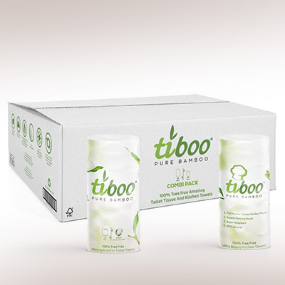 Tiboo Toilet tissue