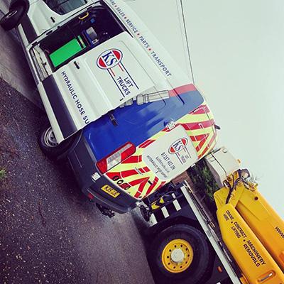 KS lift Maintenance truck